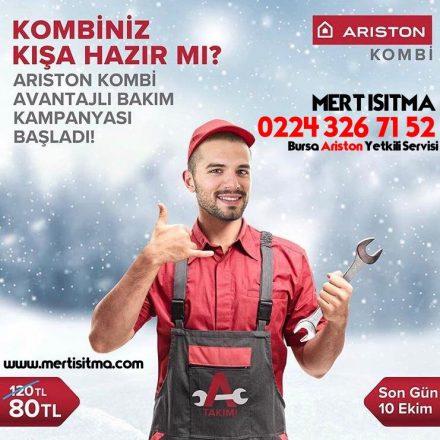 Ariston Kombi Bakım Kampanyası 0224 326 71 52