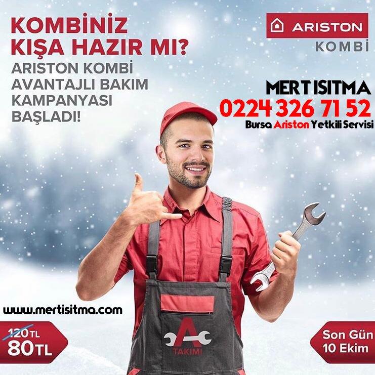 Ariston Kombi Bakım Kampanyası 0224 326 71 53