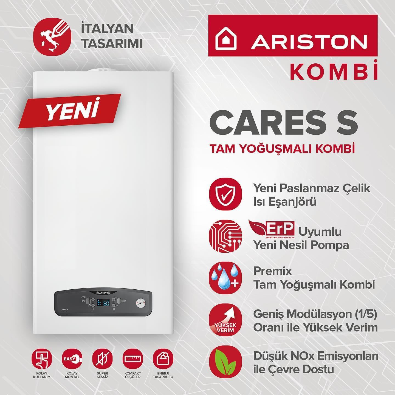 Yeni Ariston Cares S 2021 – Bursa Ariston Servis